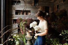 """pureblyss: """" If I wasn't a photographer, I think I'd like to be a florist. """""""