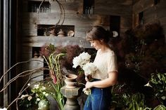 If I wasn't a photographer, I think I'd like to be a florist. - Setting