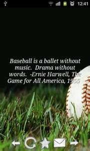 Baseball Quotes for Android screenshot