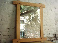 espejos rusticos de madera - Buscar con Google