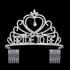 b88dfe37c0fb DcZeRong Bridal Shower Tiara Crown Bride To Be Bachelorette Party Crown  Wedding Shower Tiara Crowns    Continue with the details at the image link.