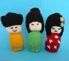Japanese Ladies Amigurumi