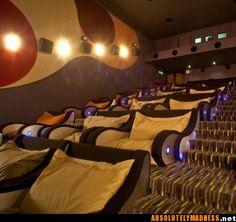 I wanna watch a movie here!