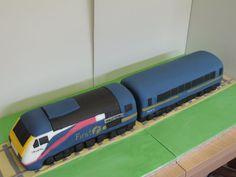 Hst+Train+Cake+-+Cake+by+David+Mason