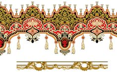 Border Pattern, Baroque, Pattern