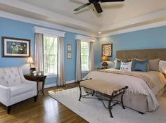 Decorating Den Interiors - Bedroom