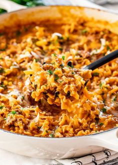 This Cheesy Taco Pasta is out of bounds! So delicious, so comforting, all in one pot and best of all it's ready in 30 minutes. Better than take-out, better than any prepackaged mixes, this Cheesy Taco Pasta will surely go on your weekly meal plan!
