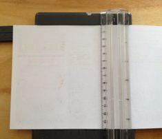 cutting template paper