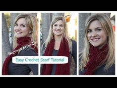 How to Crochet a Simple Infinity Scarf