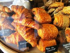 Croissants and danishes   La Boulange, SF