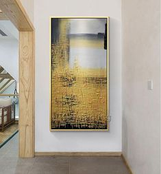 Abstract painting acrylic painting on canvas huge size