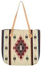 """OUR AIYANA BAG IS A PERFECT BAG FOR YOUR EVERYDAY NEEDS.Handwoven of 100% wool. //Measures approx. 15"""""""" x 18"""""""