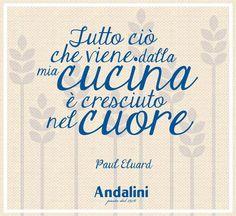 Cucinare un buon piatto di pasta è un gesto d'amore! #Andalinilatuapasta #vivalapasta #chebontà #cucinare #ricette www.andalini.com