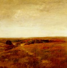 October by William Merritt Chase, Oil on canvas