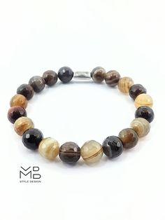 Pulseras para hombre joyas para hombre moda elegante regalo Bracelets For Men, Beaded Bracelets, Yoga Bracelet, Unisex, Agate Beads, Gifts For Husband, Stone Beads, Boyfriend Gifts, Amazing