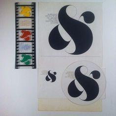 Ampersand Productions. Herb #Lubalin studio. Lettering by Tom Carnase. 1972.  @uniteditions  via @wayneford