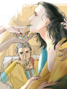Thor X Loki, Marvel Funny, Marvel Memes, Marvel Dc Comics, Marvel Avengers, Loki Fan Art, Marvel Fan Art, Tom Hiddleston Loki, Loki Laufeyson