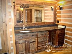 Home Decorating Style 2019 for 40 Nice Rustic Wood Vanity, you can see 40 Nice Rustic Wood Vanity and more pictures for Home Interior Designing 2019 at Homedecorlinks. Rustic Vanity, Rustic Bathroom Vanities, Home Decor Furniture, Custom Furniture, Barn Wood Mirror, Barnwood Vanity, Rustic Wood, Rustic Decor, Diy Storage Organiser