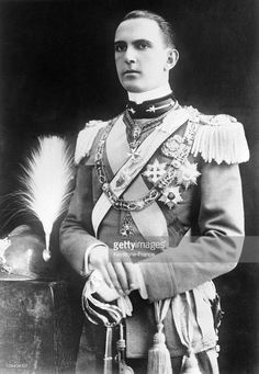 The latest portrait of Crown Prince UMBERTO of Italy who will soon marry Princess MARIE-JOSE of Belgium. He is in uniform as colonel of his regiment.  (Photo by Keystone-France/Gamma-Keystone via Getty Images)