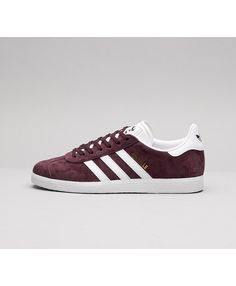 info for 5135f f0d7d Cheap Adidas Originals Womens Gazelle Trainer Maroon White Sale UK Ladies  Shoes, Girls Shoes,