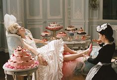 """""""let them eat cake."""" """"qu'ils mangent de la brioche.""""  the phrase commonly is misattributed to marie antoinette, supposedly the french princess said it upon learning that the peasants had  no bread.  whether she said it or not, any time is cake time in my book."""