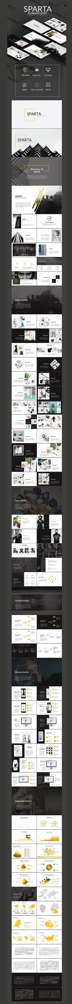 Sparta Powerpoint Multipurpose Presentation - PowerPoint Templates Presentation…