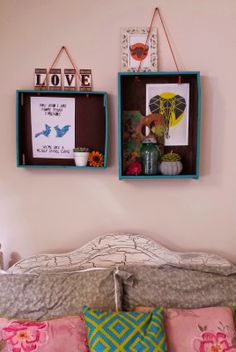 DIY Drawers to hanging shelves Interior Shop, Diy Drawers, Hanging Shelves, Shop Interiors, Frame, Home Decor, Style, Picture Frame, Swag