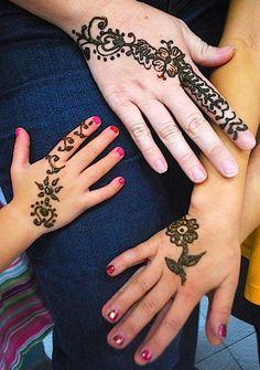 simple henna designs for kids feet images | diy | pinterest