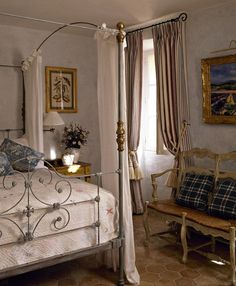 Romantic French Bedroom   photo Christopher Drake   design Annie Sloan   House & Home