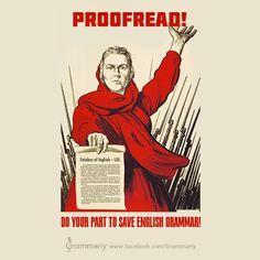 Grammar propaganda series