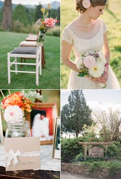 Washington State Wedding by You Look Nice Today Photography – Style Me Pretty