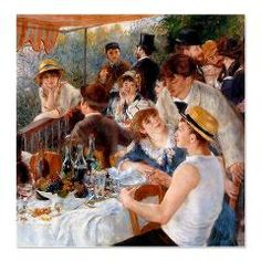 Renoir Luncheon Of The Boating Party Shower Curtain