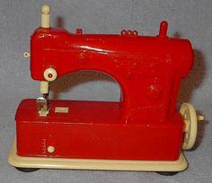 Old Vintage Children's Toy Necchi Sewing Machine $20.00