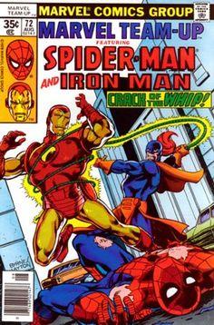 marvel team up | Marvel Team-Up Vol 1 72 - Marvel Comics Database