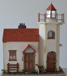 Дом у маяка.. – 35 фотографий Lighthouse, Miniatures, Bell Rock Lighthouse, Light House, Mockup, Minis, Lighthouses