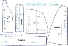 patrones marylo Nerea  tutorial en mi canal manualilolis