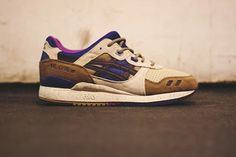 EffortlesslyFly.com - Kicks x Clothes x Photos x FLY Sh*t: ASICS Gel Lyte III - Light Brown/Dark Brown/Ink Bl...