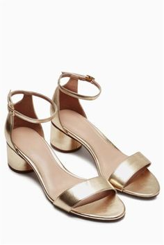 Buy Forever Comfort Cylinder Heel Sandals online today at Next: Georgia