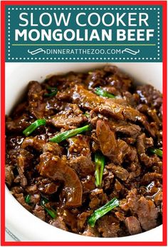 Home Made Doggy Foodstuff FAQ's And Ideas Slow Cooker Mongolian Beef Recipe Crock Pot Mongolian Beef Asian Beef Recipe Slow Cooker Beef Slow Cooker Mongolian Beef Recipe, Mongolian Beef Recipes, Slow Cooker Beef, Slow Cooker Recipes, Asian Beef, Korean Beef, Beef Pasta, Le Diner, Healthy Crockpot Recipes