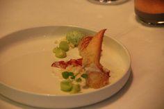 Social Dining @ Bouffard - babykreeft, limoenwasabi, basilicum ijs