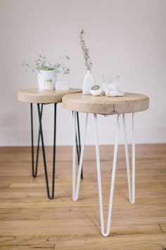 An initiative the fresh exchange hairpin table legs, cheap nightstand, nigh Easy Diy Projects, Home Projects, Diy Furniture, Furniture Design, Plywood Furniture, Furniture Stores, Furniture Projects, Kitchen Furniture, Chair Design