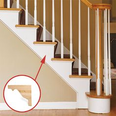 Awesome How To Add Shapely Stair Brackets