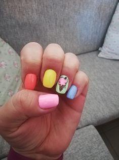 Summer+icecream nails