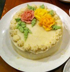 ケーキみたいなミートローフ♪
