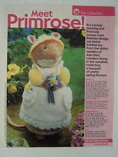 Primrose Mouse From Brambly Hedge Alan Dart Knitting Pattern