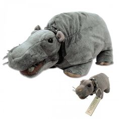 NCIS Bert The Farting Hippo and Keychain Set