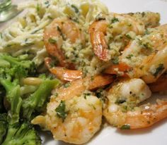 Baked Shrimps with Garlic and Herbs Recipe