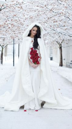 Nicole Hansen Winter Bride