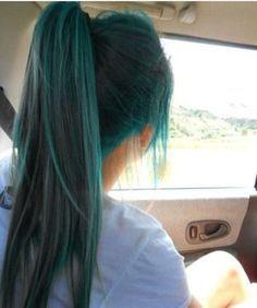 dark green blue hair - Google Search
