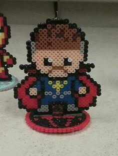 Dr. Strange perler bead pattern